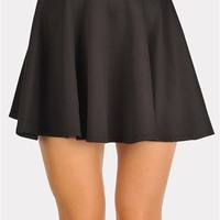 The Date Skirt - Black at Necessary Clothing