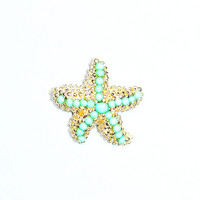 Sea Star Studded Earrings