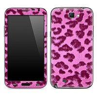 Hot Pink Cheetah Animal Print Skin for the Samsung Galaxy Note 1 or 2