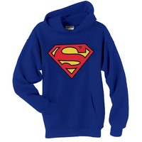 SUPERMAN SHIELD HOODIE DC COMICS (Medium)