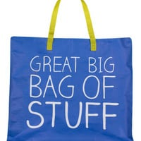 NEW Great Big Bag of Stuff Tote Bag