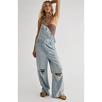 Free People Super Slouchy Overall