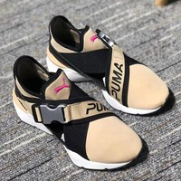 Puma Muse Cut-Out Women Fashion Running Sneakers Sport Shoes