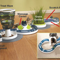 Cat Toys: Catit Senses Massage Center, Scratch Pad & Activity Center
