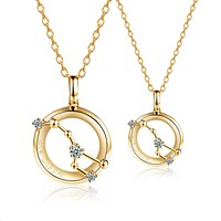 Big Dipper Lovers Couple Necklaces - 925 Sterling Silver