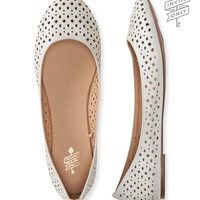 Aeropostale  Invite Only Perforated Ballet Flat