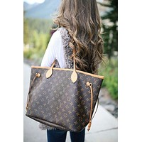 Louis Vuitton LV Trending Ladies Shopping Bag Leather Tote Handbag Shoulder Bag