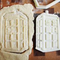TARDIS Doctor Who Cookie Cutter 3D Printed
