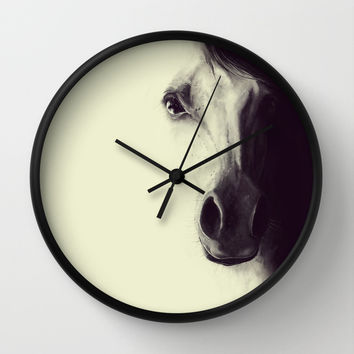 Come to me, my dream.. Wall Clock by LilaVert
