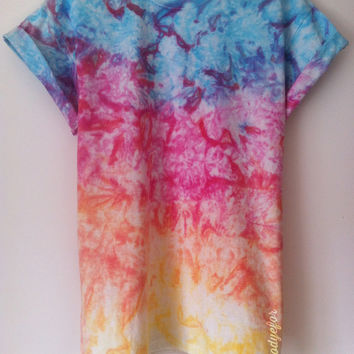 Tees To Dye For — Winter Rainbow (Pre-order 4-5 working days)