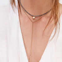 Maya Beaded Layering Necklace Set   Urban Outfitters
