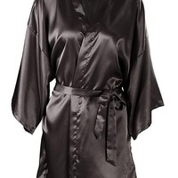 Silk Satin Robe