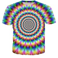 Trippy Illusion T Shirt