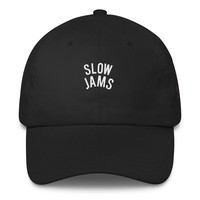 Slow Jams Embroidered Dad Hat