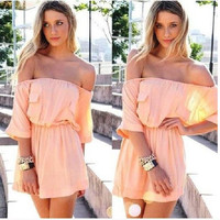New Fashion Summer Sexy Women Dress Casual Dress for Party and Date = 4723295492