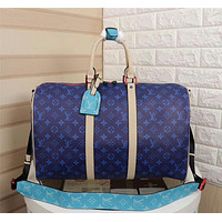 LV Louis Vuitton MONOGRAM CANVAS KEEPALL 45 SHOULDER BAG TRAVEL BAG