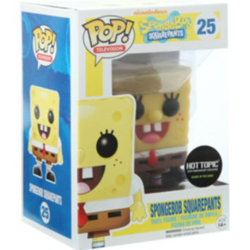 Funko SpongeBob SquarePants Pop! Television Glow-In-The-Dark Vinyl Figure Hot Topic Exclusive