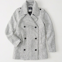 Womens Classic Wool Coat | Womens New Arrivals | Abercrombie.com
