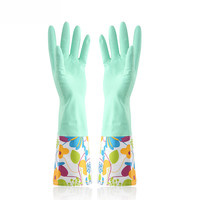 Household Gloves Wash Dishes and Clean Gloves