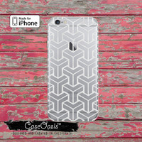 Block Geometric Pattern Marble Finish Tumblr Clear Case iPhone 6 Plus iPhone 6s iPhone 6s Plus iPhone 5 iPhone 5c iPhone SE iPhone 7 + Case