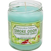 Smoke Odor Exterminator Candle Honeydew Melon