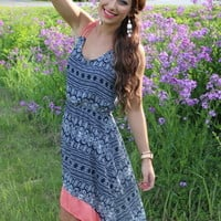 Corally Invited High-Low Dress