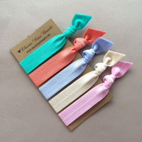 The Missy Hair Tie - Ponytail Holder Collection by Elastic Hair Bandz