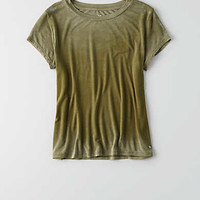 AEO Soft & Sexy Tomgirl T-Shirt , Fatigue Olive
