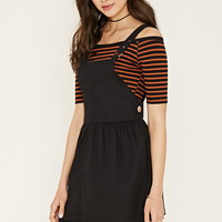 Pleated Overall Dress | Forever 21 - 2000161589