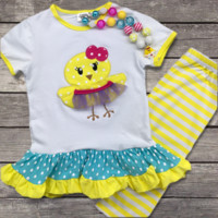 Easter Chick Tutu Outfit
