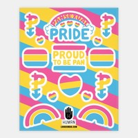 Pansexual Pride Stickers