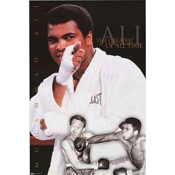 Muhammad Ali Greatest of All Time 1998 Poster 23x35