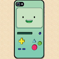 BMO Iphone case Beemo Adventure Time Iphone 4 case cool awesome Iphone 4s case
