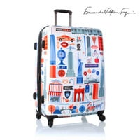 """Heys Luggage 30"""" Fashion Spinners Suitcase Cities FVT New York Expandable"""