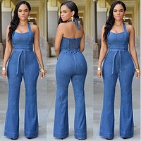 DENIM DREAM JUMPSUIT