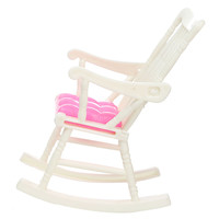 DIY Mini Doll Rocking Chair Accessories For Doll House Room Dollhouse Decoration Rocker Toys Children Kid Girls Toy