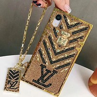 Perfect Louis Vuitton LV Phone Cover Case For iphone 6 6s 6plus 6s-plus 7 7plus 8 8plus iPhone X XS XS max XR-6