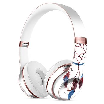 Watercolor Red and Blue Toned Dream Catcher Full-Body Skin Kit for the Beats by Dre Solo 3 Wireless Headphones