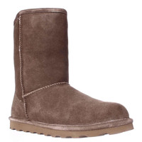 Bearpaw Elle Short Cold Weather Boots - Hickory