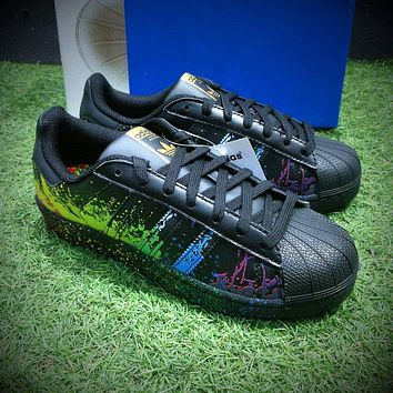 Adidas Superstar LGBT Pride Month Gay Pride Pack Casual Shoes Sport Shoes BB1687