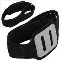 Black Sport Gym Running Armband Case Cover for iPod Nano 6