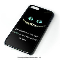 Alice In Wonderland And Tardis Doctor Who Design for iPhone 4 4S 5 5S 5C 6 6 Plus, and iPod Touch 4 5 Case