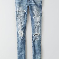 AEO Women's Denim X Jegging Ankle (Super Slash)