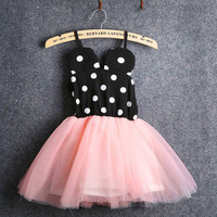 2015 New Baby Girl Dress Fashion Cute Minnie Mouse Dresses Kids Clothes Toddler Tutu Dress Alternative Measures - Brides & Bridesmaids - Wedding, Bridal, Prom, Formal Gown
