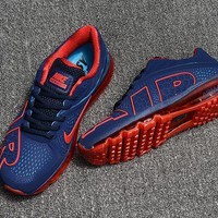 Best Deal Online Nike Air Max Flair Navy Blue Red