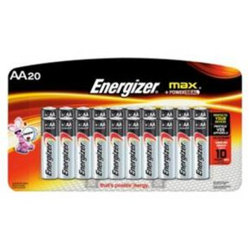 Energizer Max General Purpose Battery AA 20 Count - (E91LP-20)