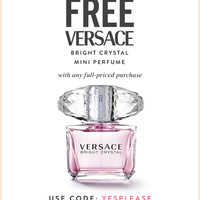 Versace Bright Crystal Gift