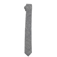 The Essential Tie - Black Chambray
