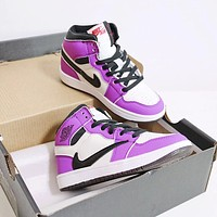NIKE Jordan 1 generation barbed TSXAJ1 children's shoes