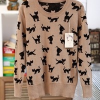 All About Kitty Sweater